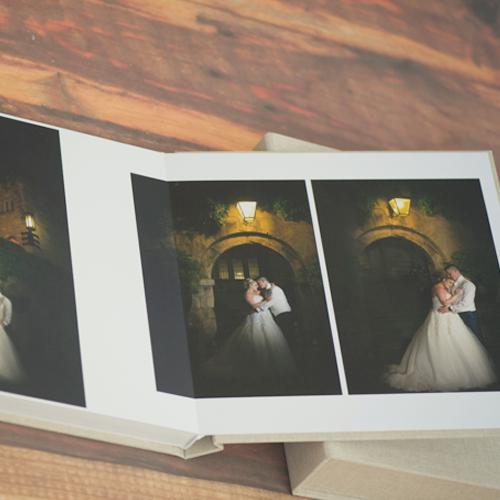 Amie Parsons photography wedding album