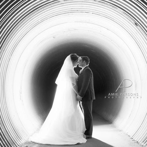 All Saints church in Pontefract creative Wedding Photography