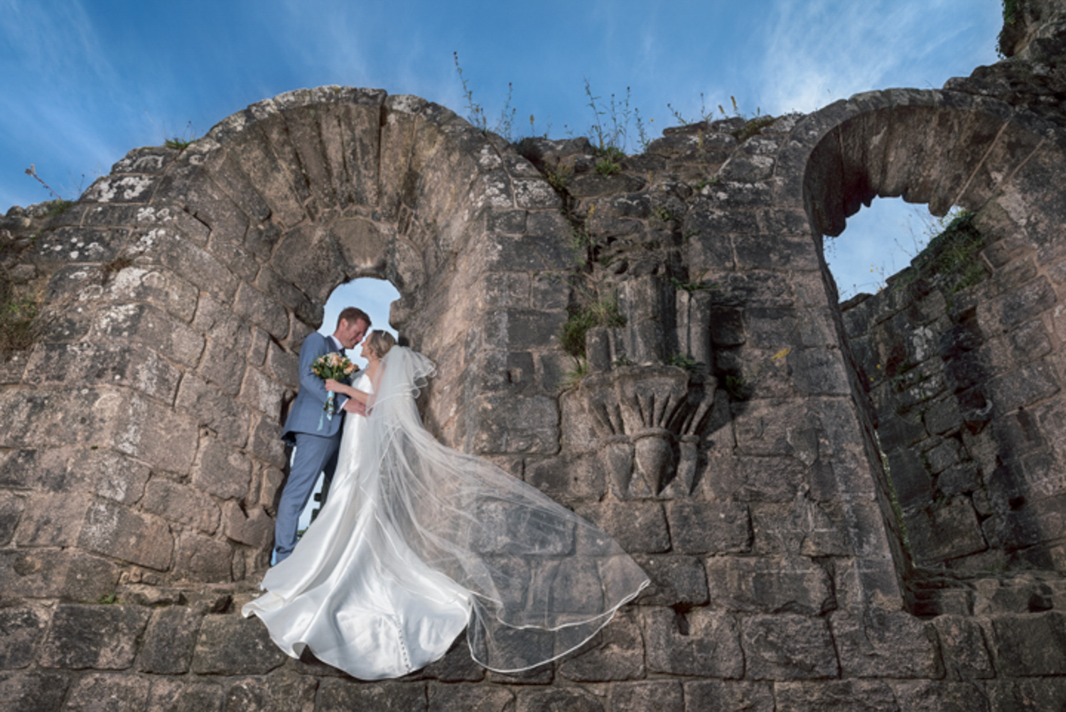 Sheffield Wedding photography Fountains Abbey